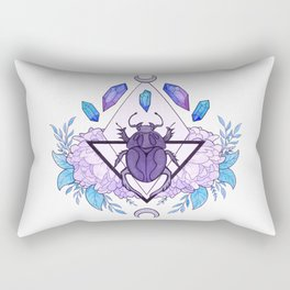 Scarab Queen Rectangular Pillow