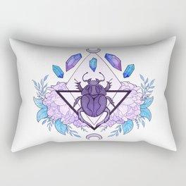 Scarab Queen Rectangular Pillow