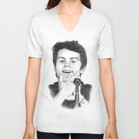 stiles V-neck T-shirts featuring Stiles by LilKure