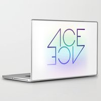 ace Laptop & iPad Skins featuring Ace Ace by Covered In Moons