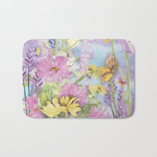 Macro Flower #19 Bath Mat