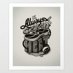 Meat Cravings Art Print