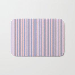 Pantone Rose Quartz over Serenity Bath Mat