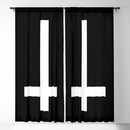 Inverted Cross Blackout Curtain