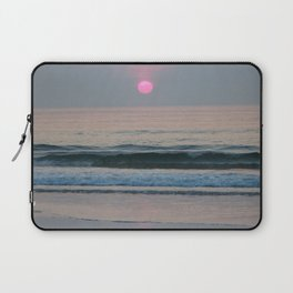 Pink Sun Laptop Sleeve