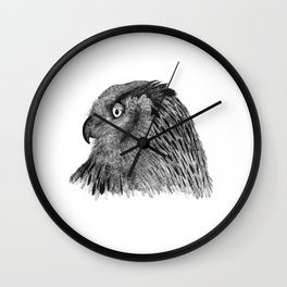 Owl Nr.2 Wall Clock