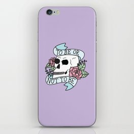 That is the Question iPhone Skin