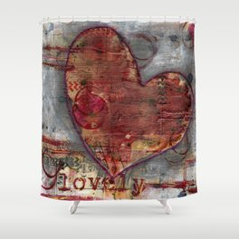 Permission Series: Lovely Shower Curtain