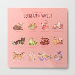 The Ice Cream Pawlor Metal Print