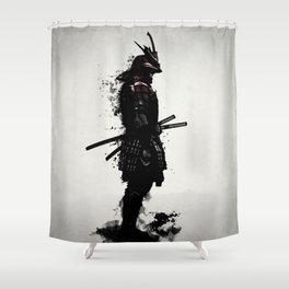 Armored Samurai Shower Curtain