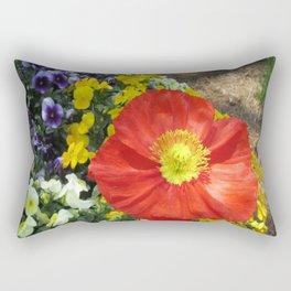 Garden Palette Rectangular Pillow