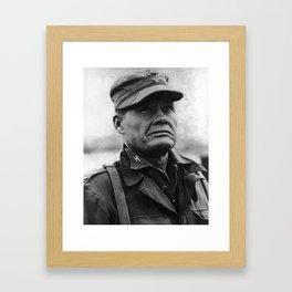 "Colonel Lewis ""Chesty"" Puller - 1950 Framed Art Print"