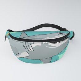 Angry Shark Fanny Pack