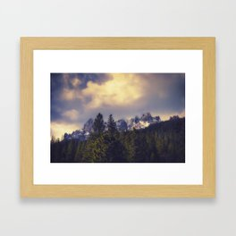 My Inspiration Castle Crags California Framed Art Print