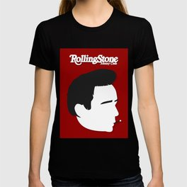 Johnny Cash, Minimalist Rolling Stone Magazine Cover T-shirt