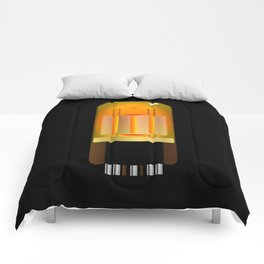 Glowing Amplifier Valve Comforters