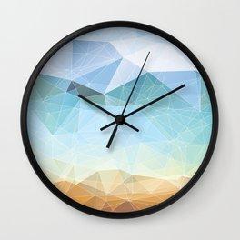 Between Earth and Sky Wall Clock