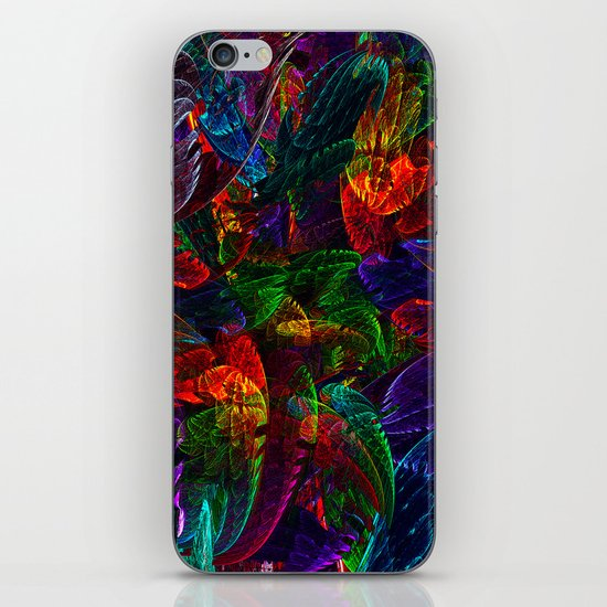 Bright Colored Leaves iPhone & iPod Skin