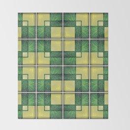 Vintage Tiles #1 Throw Blanket