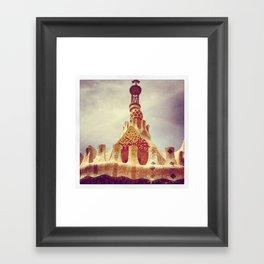 Barcelone Gaudi 3 Framed Art Print