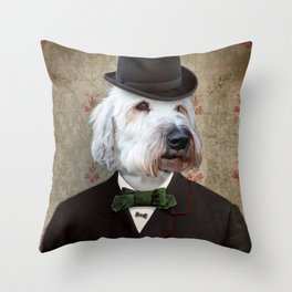 Sir Kansas - Wheaten Terrier Throw Pillow