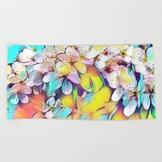 Floral ArtStudio 31 Beach Towel