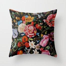 Night Garden XXXVI Throw Pillow