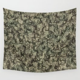 Sexy girls camouflage Wall Tapestry