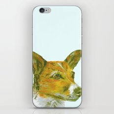 Jack Russell printed from an original painting by Jiri Bures iPhone & iPod Skin
