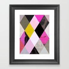 colour + pattern 15 Framed Art Print