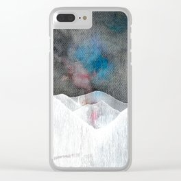 Another valley, another life Clear iPhone Case