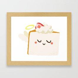 Baby Cakes - Angel Food Cake Framed Art Print