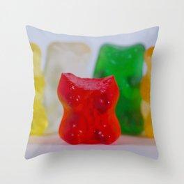 Losing My Mind (The Gummie Bears Photo Original) Throw Pillow