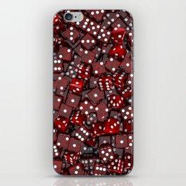 Red dice iPhone Skin