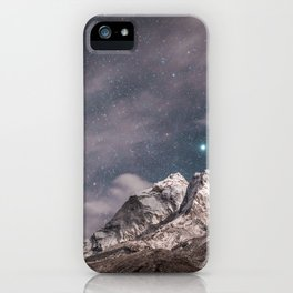 Lavender sky iPhone Case