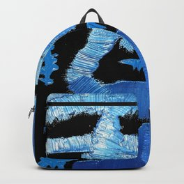 My Sapphire blue Backpack