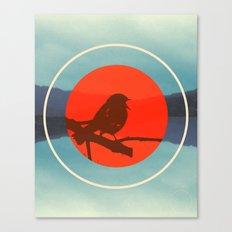 Bird Call Canvas Print
