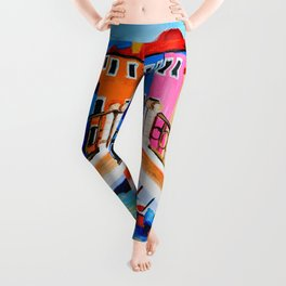 Colors of Venice Italy Leggings