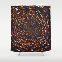 abyss Shower Curtains featuring Abyss by Daisho