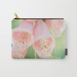 Pastel Foxgloves Carry-All Pouch