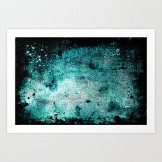 Blue Mars Art Print