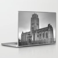 liverpool Laptop & iPad Skins featuring Liverpool Cathedral by Abi Booth