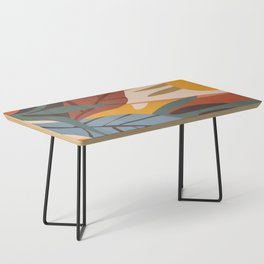 Abstract Art Jungle Coffee Table