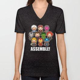 Assemble! Unisex V-Neck