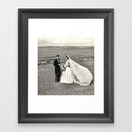 The Kennedys' Wedding Framed Art Print