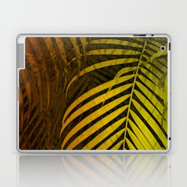 TROPICAL LEAVES GREEN MOCCA no4 Laptop & iPad Skin