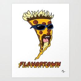 Guy Pizzeri Art Print