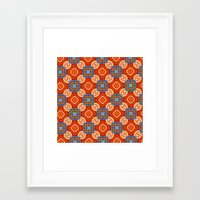 persian Framed Art Prints featuring Persian Parlor by Peter Gross