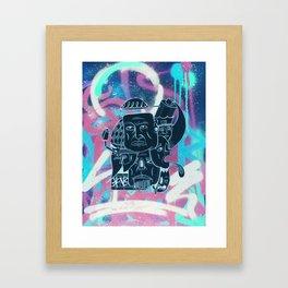 Graffish Framed Art Print