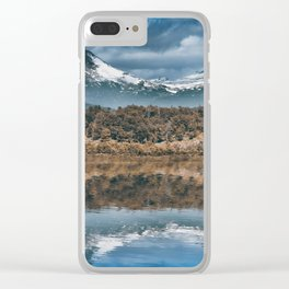Snow Peaks Clear iPhone Case